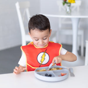 Caped SuperBib: The Flash