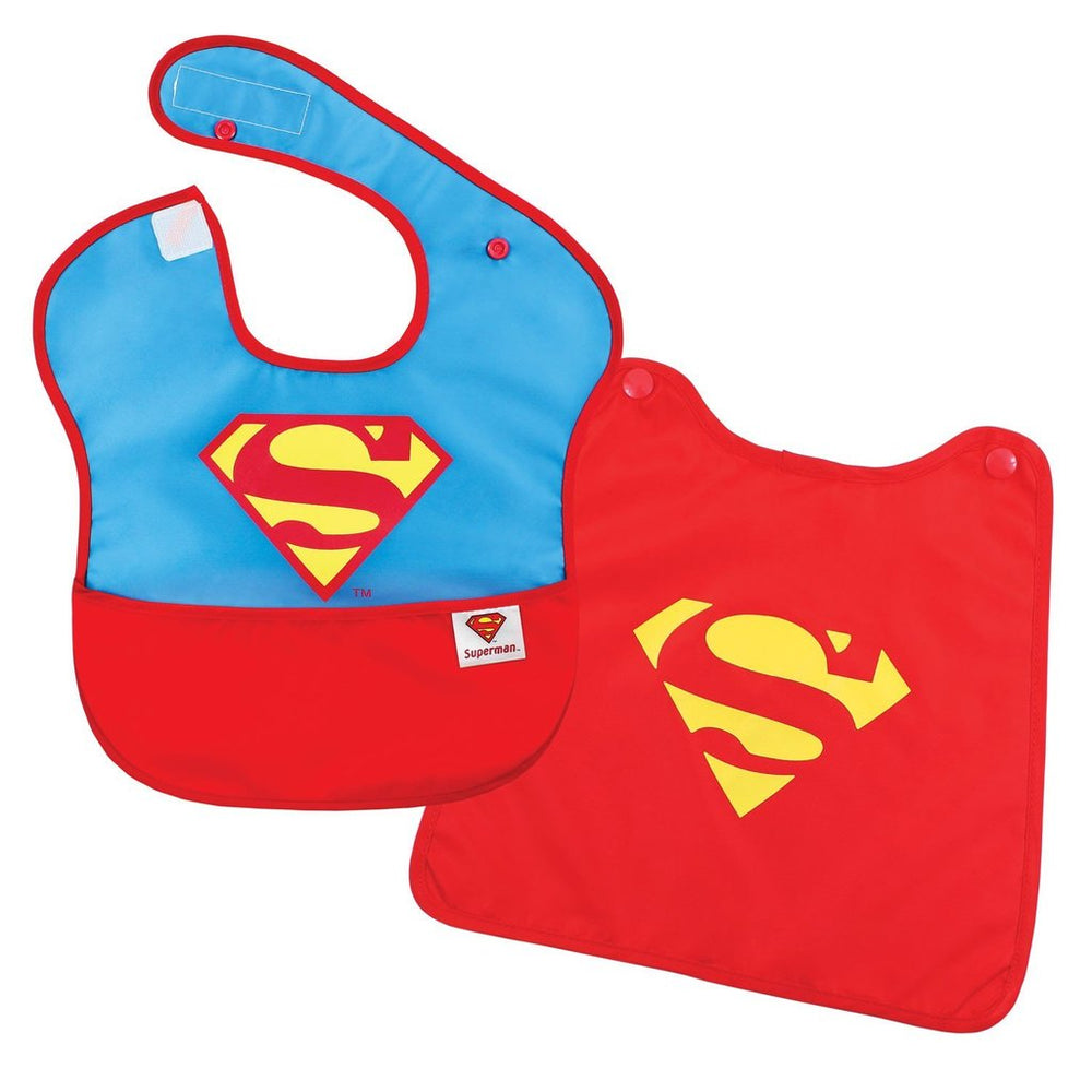 superman baby bib with cape