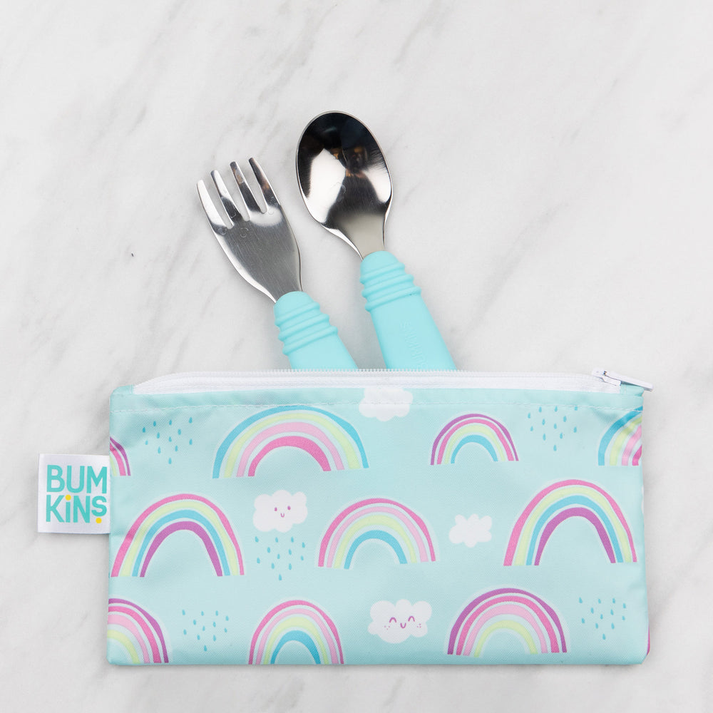 Spoon + Fork: Blue