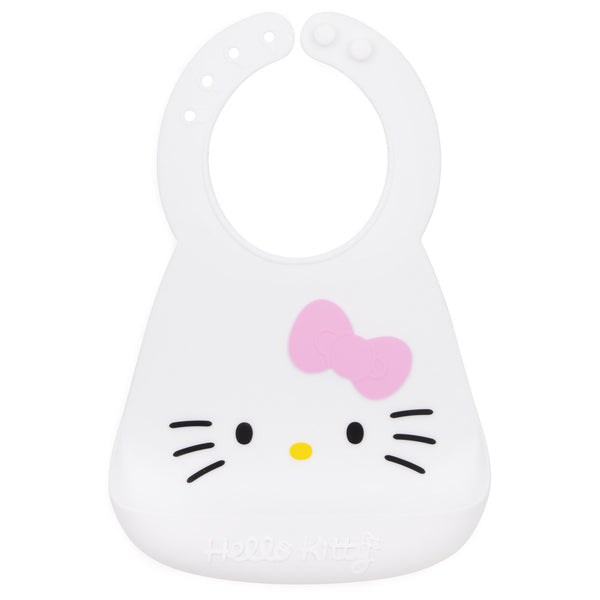 Hello Kitty silicone bib