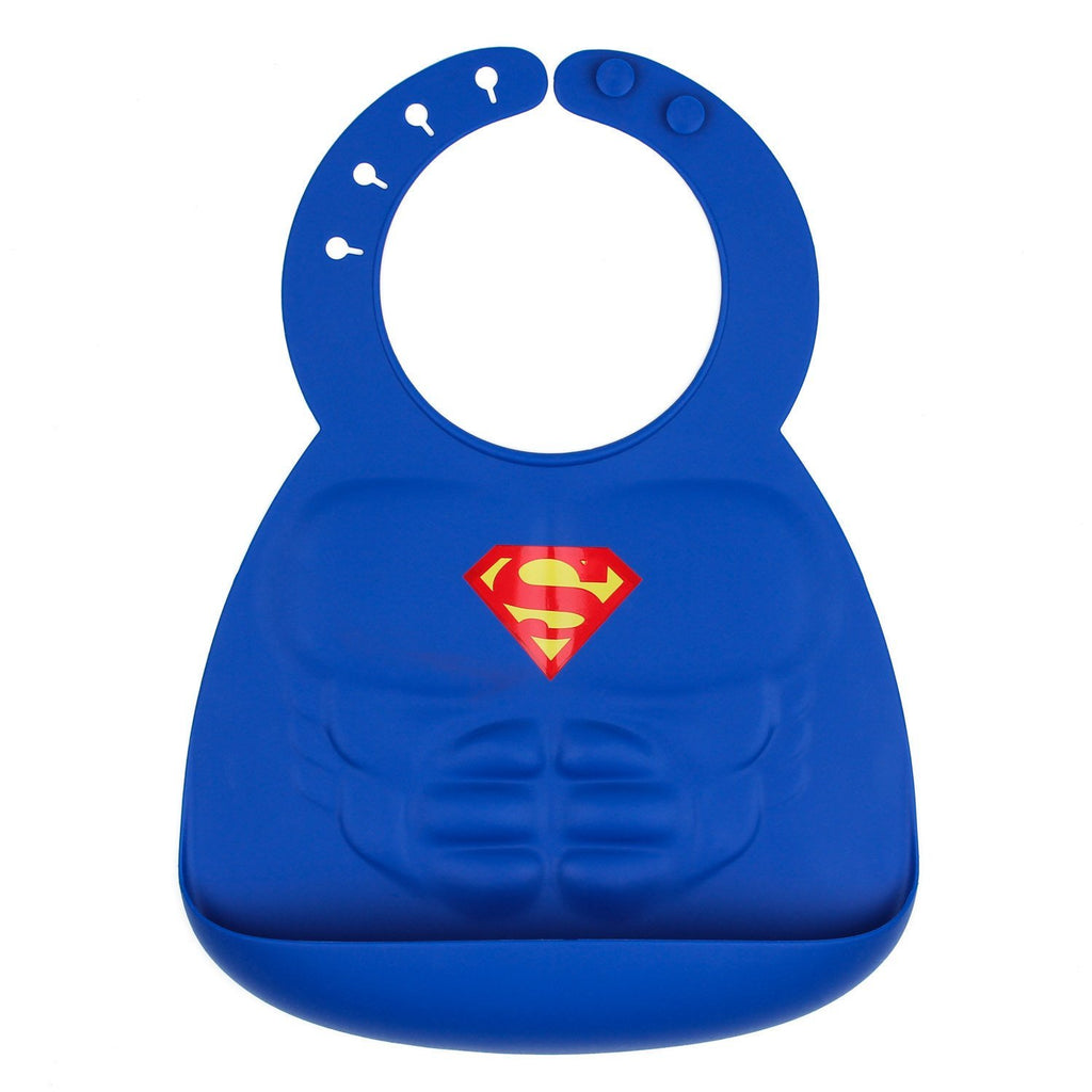 Silicone Bib: Superman