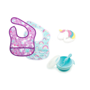 baby girl unicorn gift set
