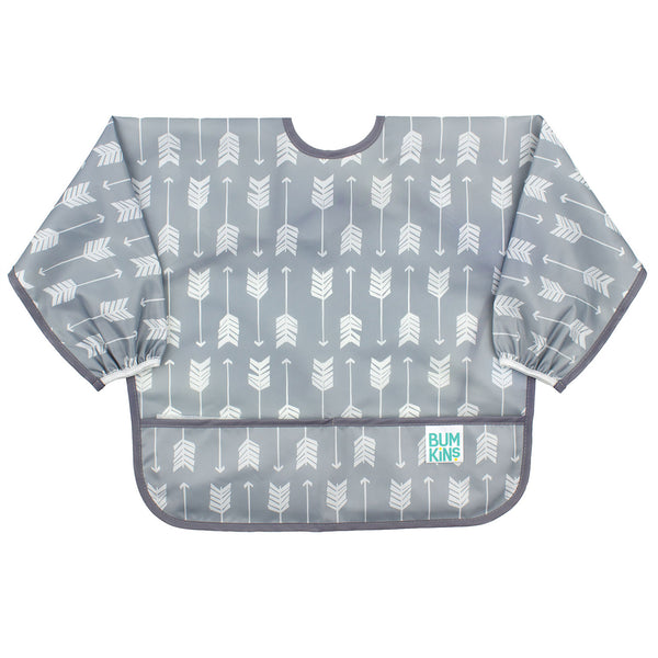 Sleeved Bib: Arrow