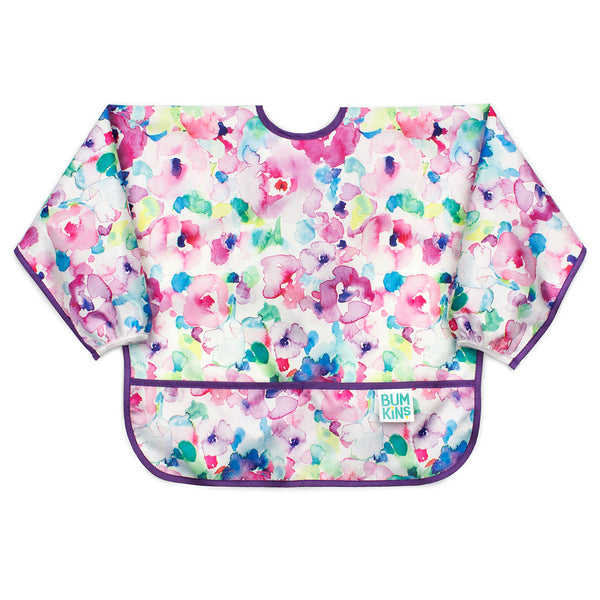 Sleeved Bib: Watercolor