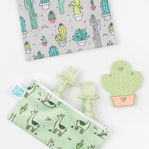 Silicone Teether: Cactus