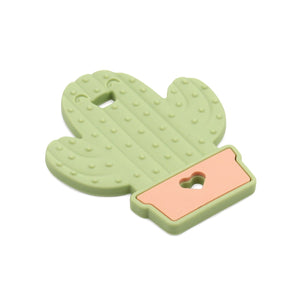 cactus baby teether