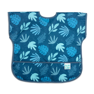 blue baby and toddler bib
