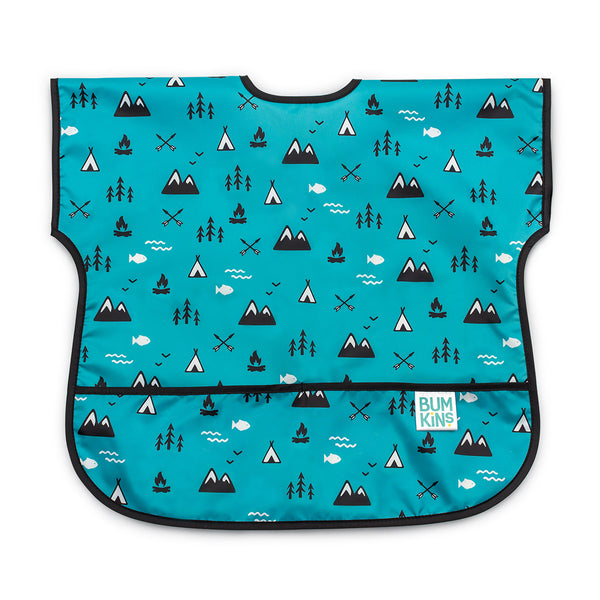 blue baby toddler bib