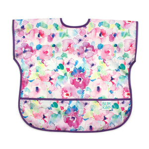 floral baby toddler bib large