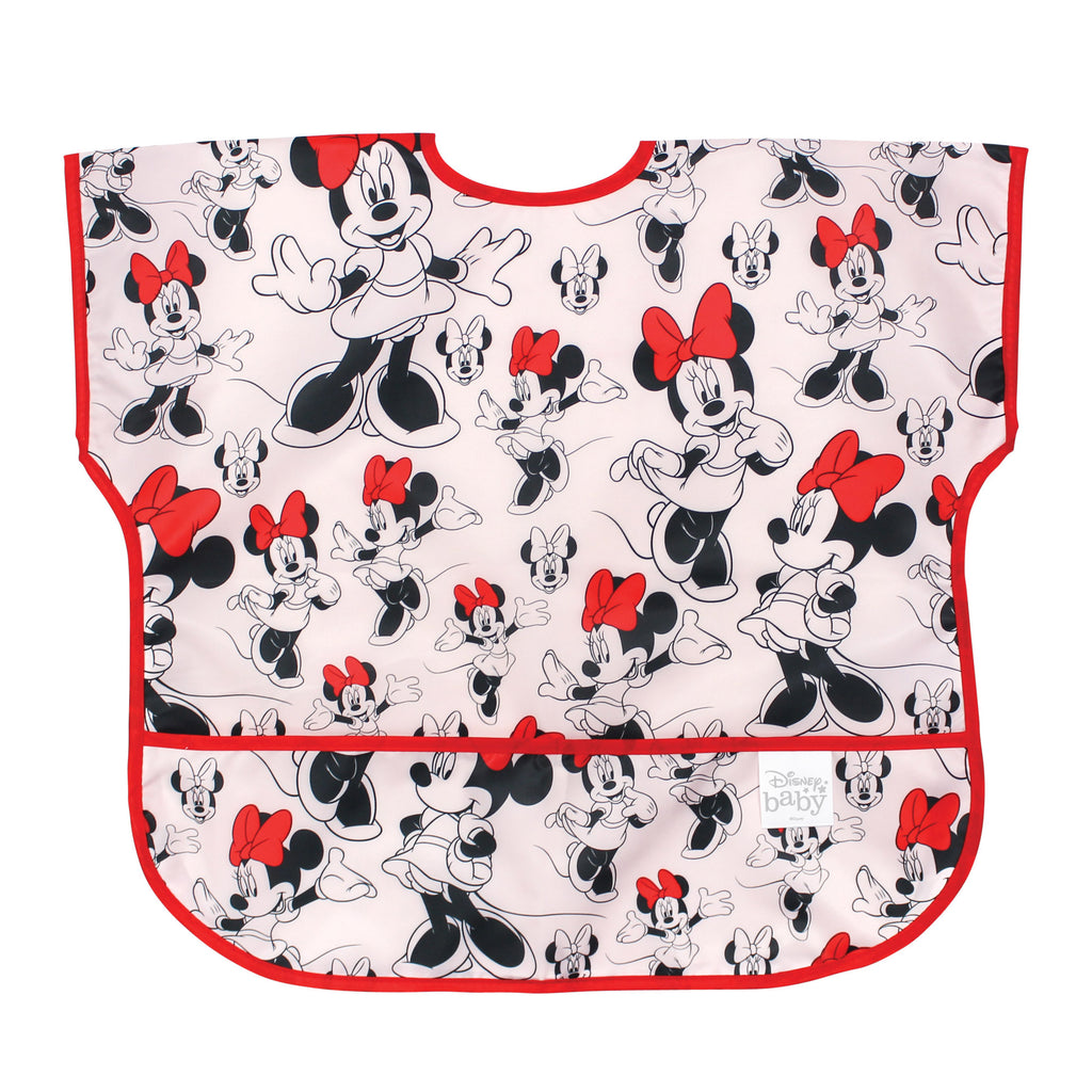Minnie Mouse baby toddler bib