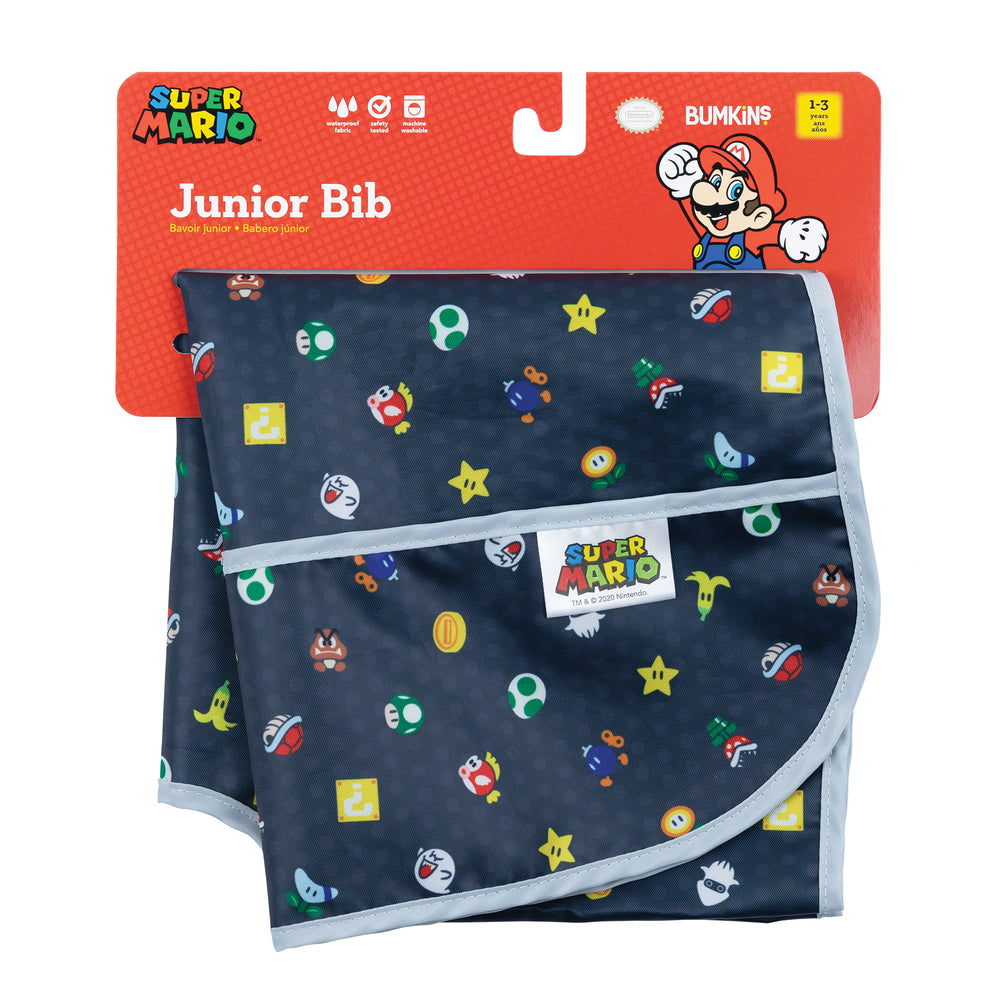 Junior Bib: Super Mario™ Lineup