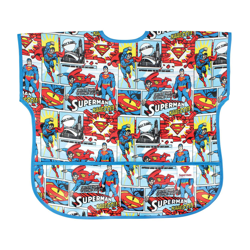 superman baby toddler bib