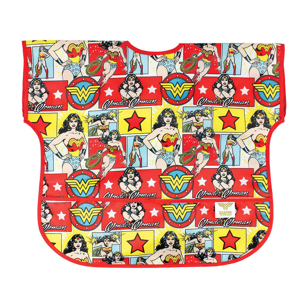 wonder woman baby toddler bib large