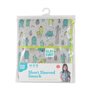 Short-Sleeved Art Smock: Cacti