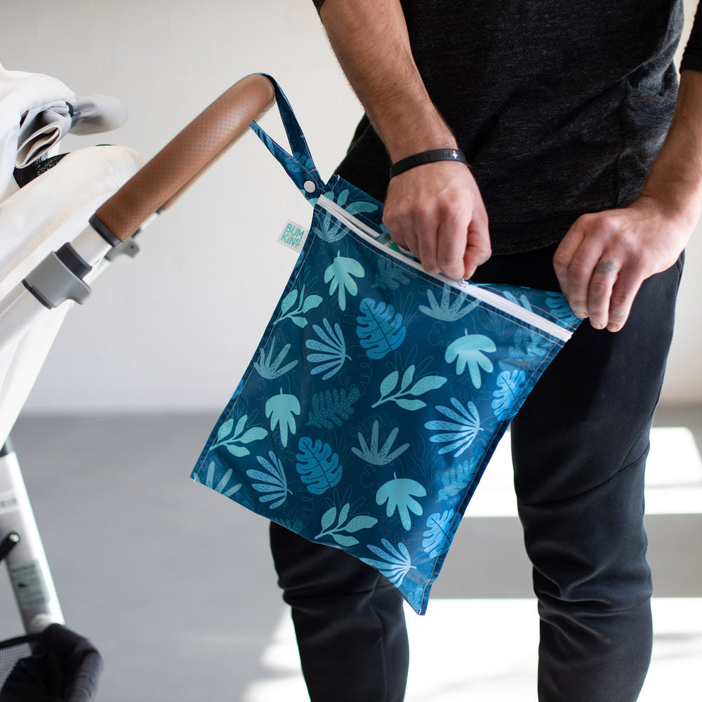 Wet Bag: Blue Tropic