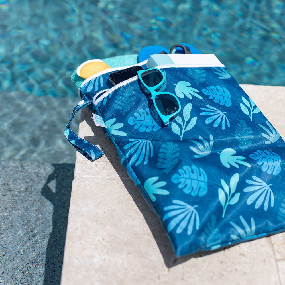Wet / Dry Bag: Blue Tropic