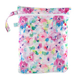 waterproof wet dry bag pink floral