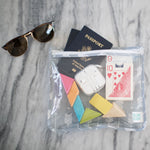 Clear Travel Bag 3-Pack: Arrow