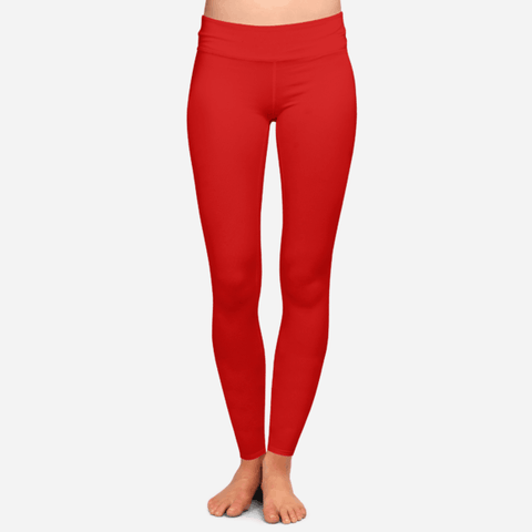 Red Yoga Pants