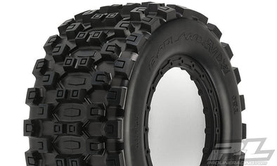 10131-00 Badlands MX43 Pro-Loc Tires pre-mounted to Impulse X-MAXX®