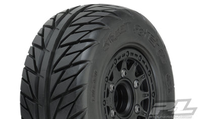 "1167-10 Street Fighter SC 2.2""/3.0"" Street Tires Mounted"