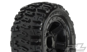 "1194-11 Trencher 2.2"" M2 (Medium) All Terrain Tires Mounted(E-revo 1/16)"