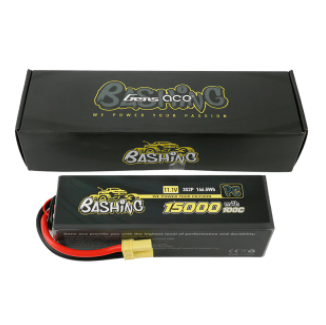 Gens Ace Bashing Pro 11.1V 100C 3S2P 15000mah Lipo Battery Pack With EC5 Plug For Arrma