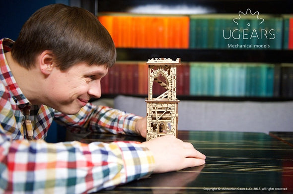 UGears Archballista-Tower - 292 pieces (Medium)