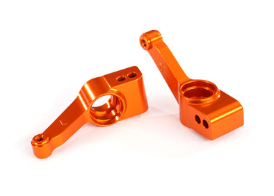1952T Carriers, stub axle (orange-anodized 6061-T6 aluminum) (rear) (2)