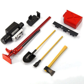 ZH-ACC-009R RC Rock Crawler Accessory Tool Set  ( 1 Set )