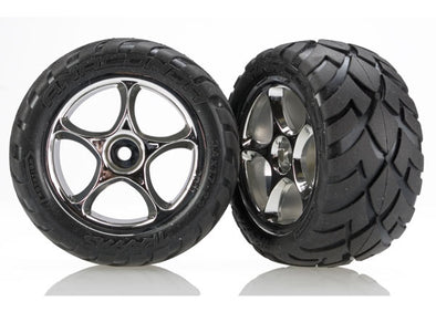 "2478R Tires & wheels, assembled (Tracer 2.2"" chrome wheels, Anaconda® 2.2"" tires with foam inserts) (2) (Bandit rear)"
