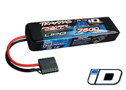 2869X 7600mAh 7.4v 2-Cell 25C LiPo Battery