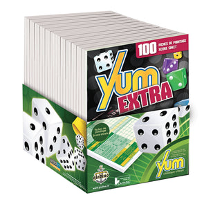 Yum Extra - 2 x 50 feuilles de pointage