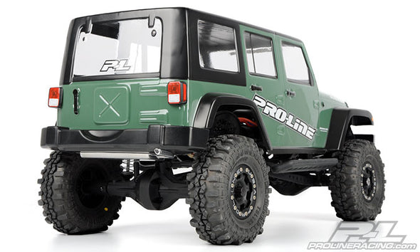 3336-00 Jeep®Wrangler Unlimited Rubicon Clear Body