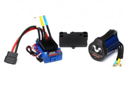 Traxxas Velineon VXL-3s Brushless Power System, waterproof (includes VXL-3s waterproof ESC, Velineon 3500 motor, and speed control