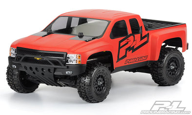 3385-00 Chevy Silverado HD Clear Body Slash/4x4