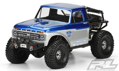 3464-00 1966 Ford F-100 Clear Body for SCX10 Trail Honcho