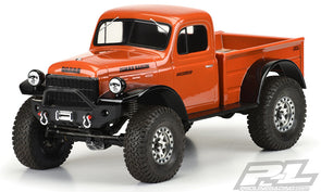 "3499-00 1946 Dodge Power Wagon Clear Body for 12.3"" (313mm) Wheelbase Scale Crawlers"