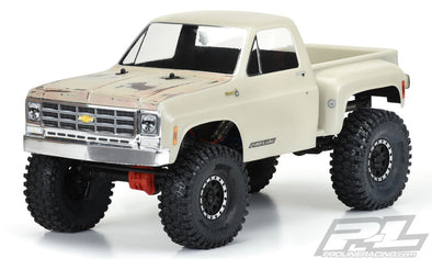 "3522-00 1978 Chevy® K-10™ Clear Body (Cab & Bed) for 12.3"" (313mm) Wheelbase Scale Crawlers"