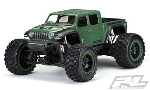 3533-17 Pre-Cut Jeep® Gladiator Rubicon Clear Body for X-MAXX®