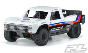 3547-17 Pre-Cut 1967 Ford® F-100 Race Truck Clear Body for Unlimited Desert Racer®