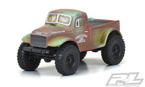 3565-00 1946 Dodge Power Wagon Clear Body for SCX24™ JLU (Other SCX24™ Models Require Axial Body Mounts) (PRE ORDER ETA 27/12/20)