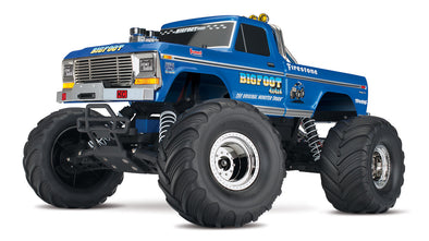 BIGFOOT Classic 1/10 Scale RTR Monster Truck; Blue