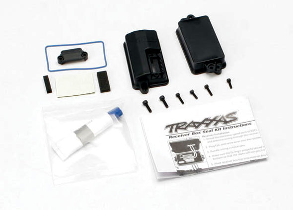 3628 Traxxas Sealed Receiver Box Kit