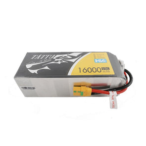 Tattu 22.8V 15C 6S 16000mAh LiPo Battery with XT90 Plug for UAV