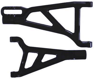 80212 Front A-Arms Right Black Revo (2)