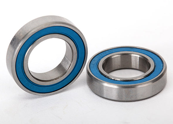 5101 Ball bearings, blue rubber sealed (12x21x5mm) (2)