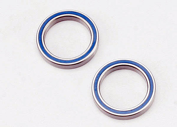5182 Ball bearings, blue rubber sealed (20x27x4mm) (2)