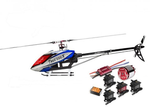 Align T-Rex 550X Electric Helicopter Combo