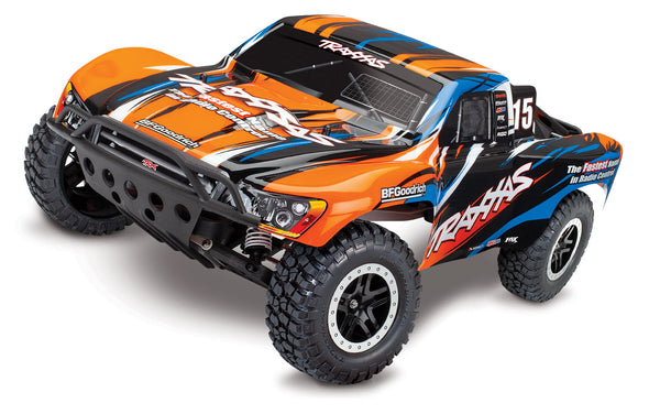 Traxxas Slash VXL Brushless 1/10 RTR Short Course Truck OrangeX